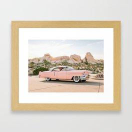 Pink Desert Framed Art Print
