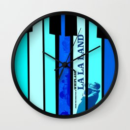 La La Land alternate poster Wall Clock