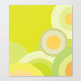 Yellow Lemon - Color of Accessories and Home Style Canvas Print