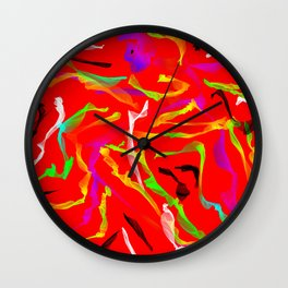 Sexy Dancer Wall Clock