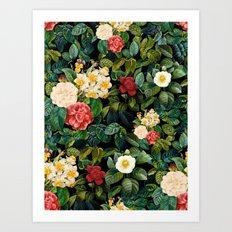 NIGHT FOREST VIII Art Print