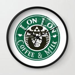 ♥ Cafe Lon Lon ♥ Wall Clock