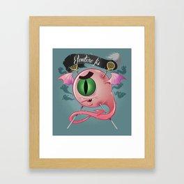 Eye monster  Framed Art Print