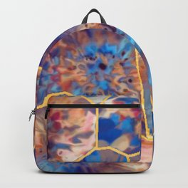 abstract mosaic marble effect Backpack