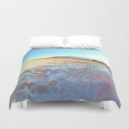 Watery Clouds Duvet Cover