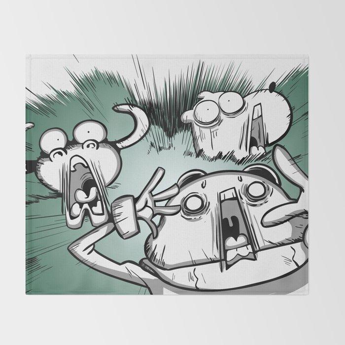 OMG ! (Peepoodo) Throw Blanket