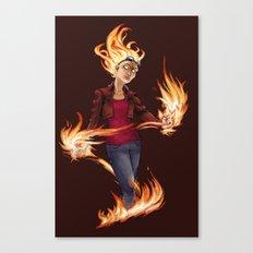 Modern Chandra Canvas Print