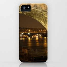 Under the Charles Bridge iPhone Case