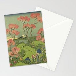 Japanese Print Stationery Cards