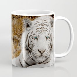 WHITE TIGER GAZE Coffee Mug
