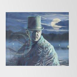 Voodoo tales Throw Blanket