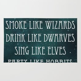 A Wizards Life Rug