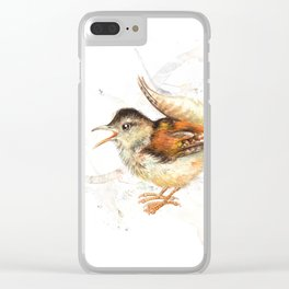 The small wren Clear iPhone Case