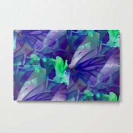 Butterfly in wonderland ... Metal Print