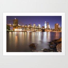 Manhattan, New York Art Print