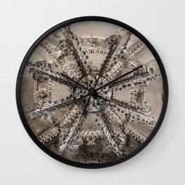 Sedlec Ossuary Ceiling Wall Clock