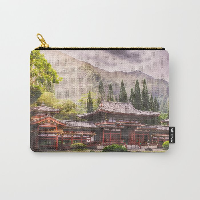 Sunrise at the Temple Carry-All Pouch