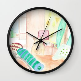 Hamster Don't Want To Sleep Wall Clock