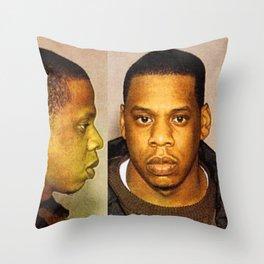 Shawn Carter MugShot 1999 Throw Pillow