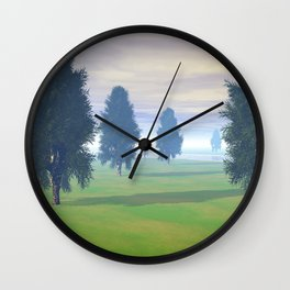 Fairway To Seven Wall Clock