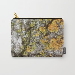 Bark and Lichen Carry-All Pouch