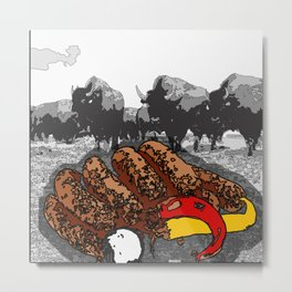 Bullsausages Metal Print