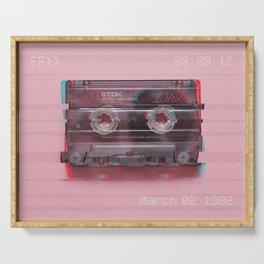 Cassette#VHS#FF>>#effect Serving Tray