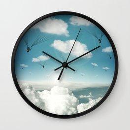 The Rain Bringers Wall Clock