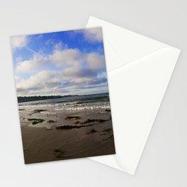 Monterey beach panorama Stationery Cards