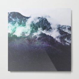 Mountain Cosmos Metal Print