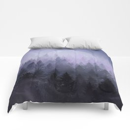fantasy forest 2 Comforters