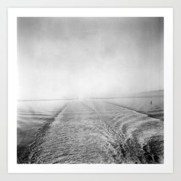 The Blue Road to Ireland Art Print