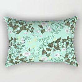 Honeysuckle & Bindweed Rectangular Pillow