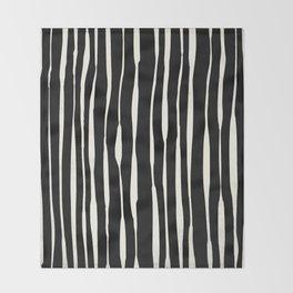 Retro Stripe Throw Blanket