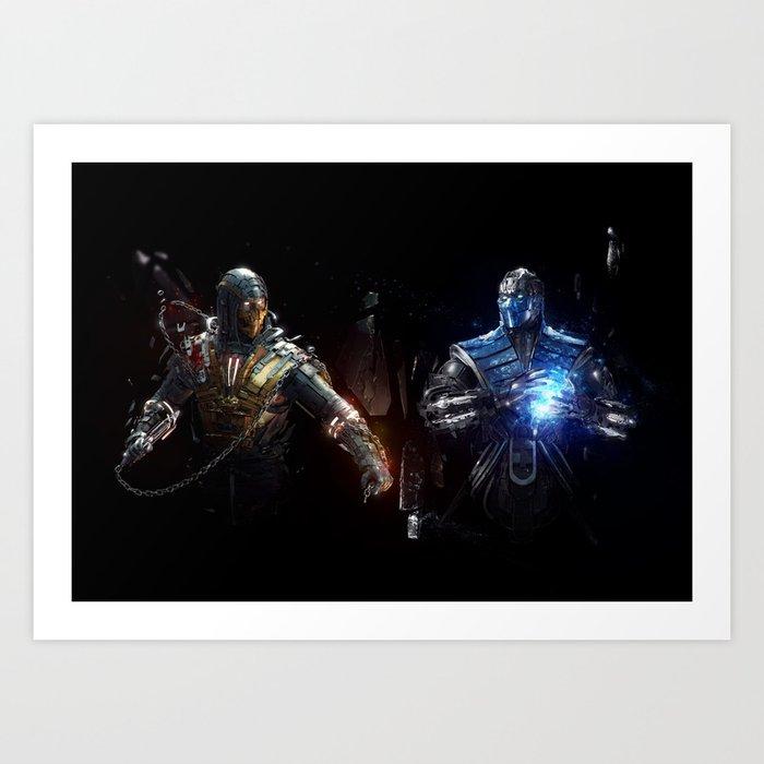 MK VS. Art Print