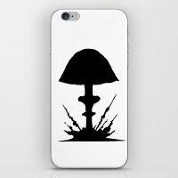 mushroom iPhone & iPod Skins featuring Mushroom by Kristijan D.