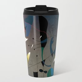 Miró's Ghost Wakes Up from a Bad Reality Travel Mug
