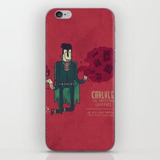 Carlyle, The Christmas Vampire iPhone & iPod Skin