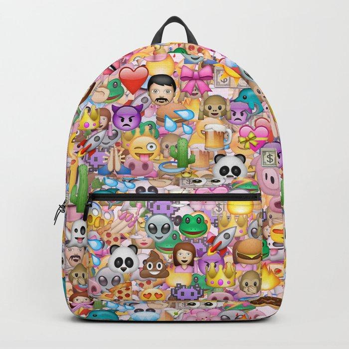 emoji / emoticons Backpack