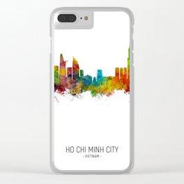 Ho Chi Minh City Vietnam Skyline Clear iPhone Case