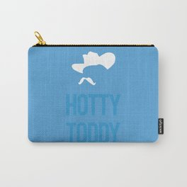 Colonel Silhouette (powder blue) Carry-All Pouch