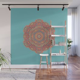 Digital Hawaii Mandala Wall Mural