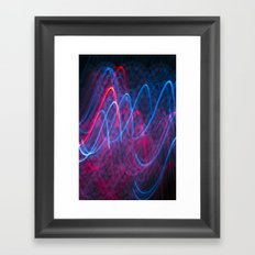 Light Wave Framed Art Print