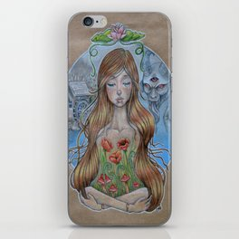 Girl Without Hands iPhone Skin