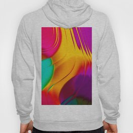 Abstract Color Parade Hoody