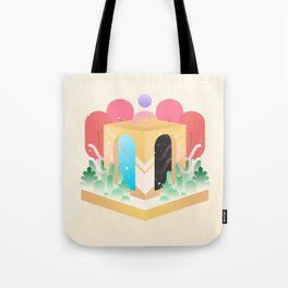 Temple of Time  Tote Bag
