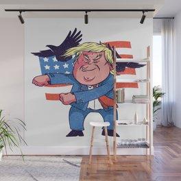 Dancing Trump Wall Mural
