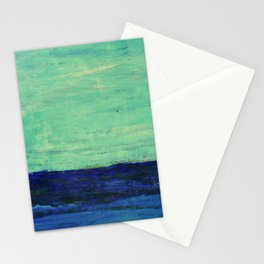 ABSTRACT SEASCAPE 5 Stationery Cards