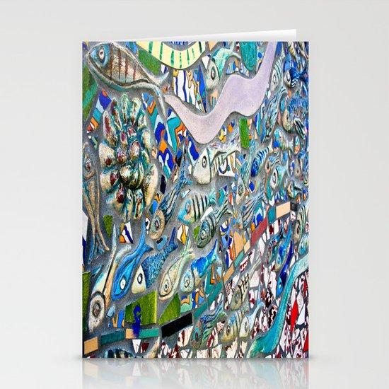 Venice Beach Bathroom Art Stationery Cards