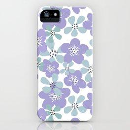 Maya Periwinkle iPhone Case